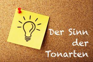 Tonarten und Vorzeichen – Wofür sind sie gut?